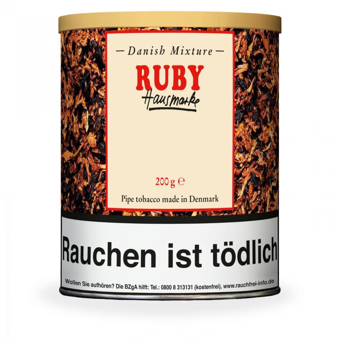 Hausmarke »Danish Mixture Ruby« 200g Dose