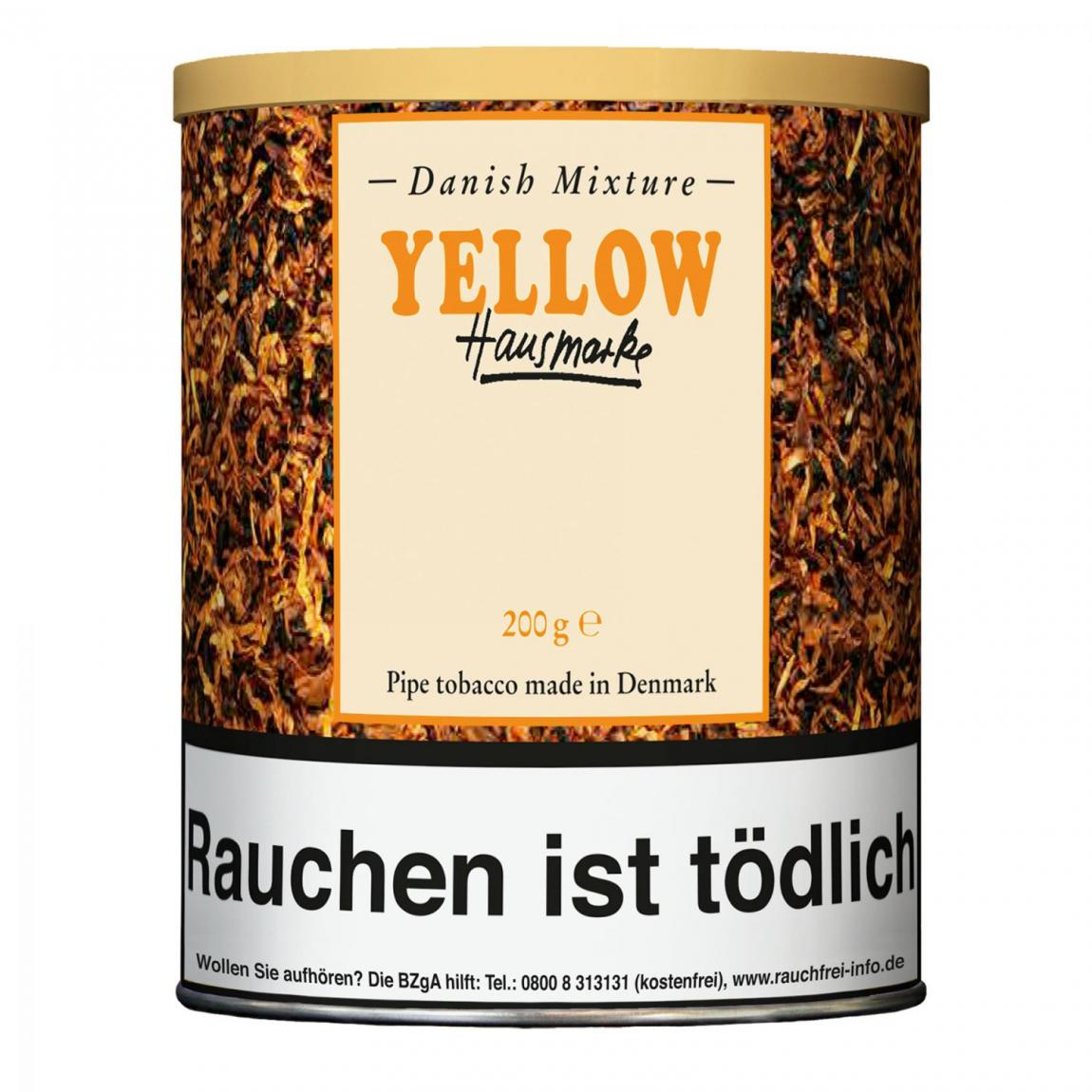 Hausmarke »Danish Mixture Yellow« 200g Dose