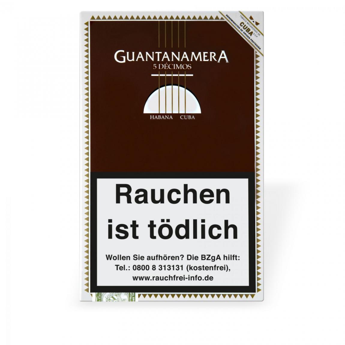 Guantanamera Decimos 5er Schachtel