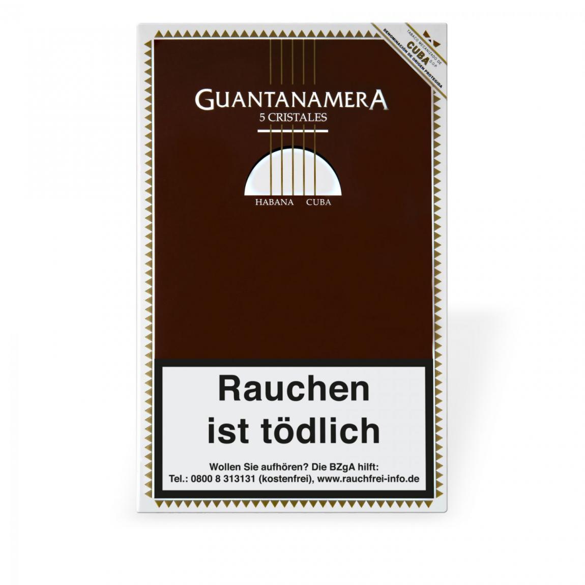 Guantanamera Cristales Tubos 5er Schachtel