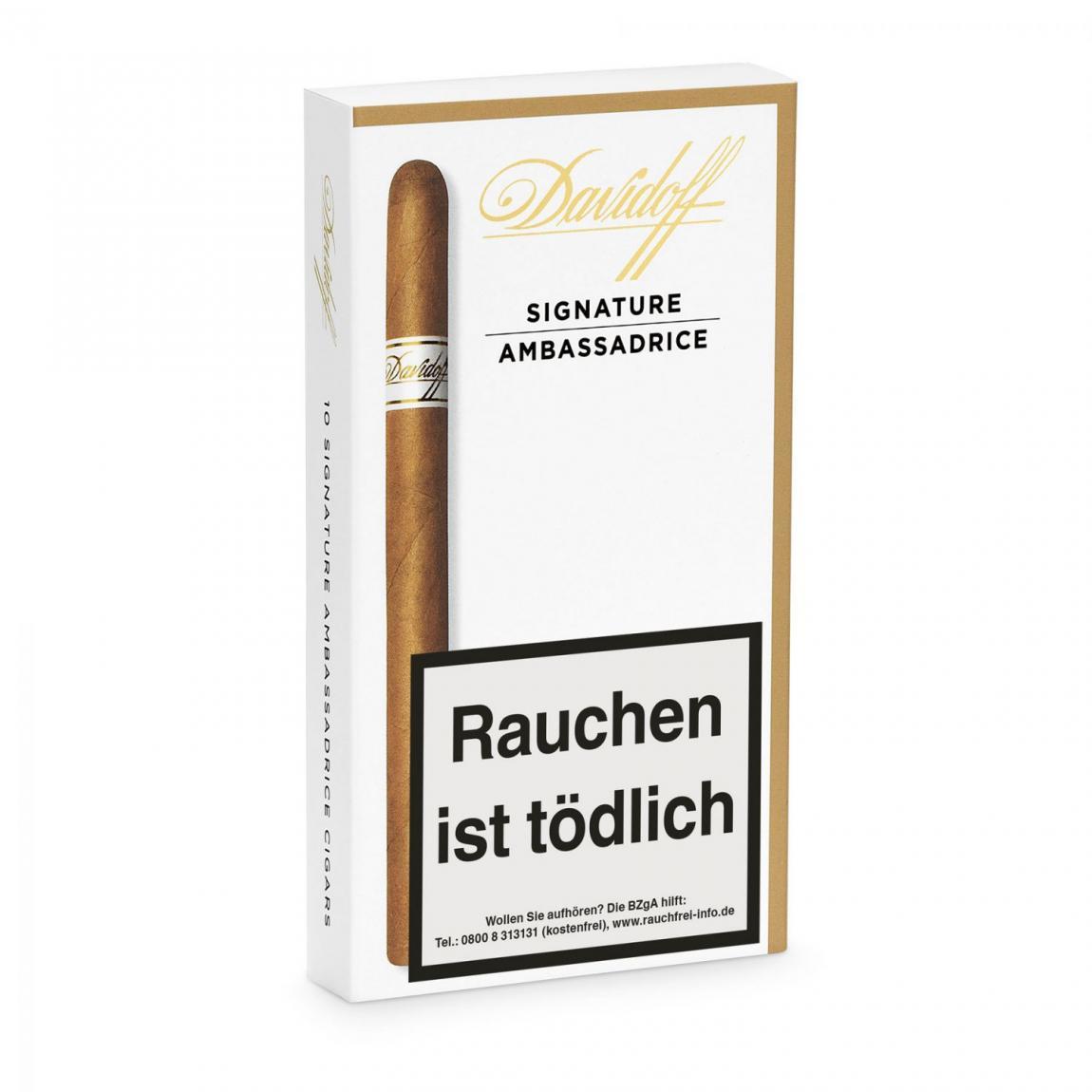 Davidoff »Signature« Ambassadrice, 10er Schachtel
