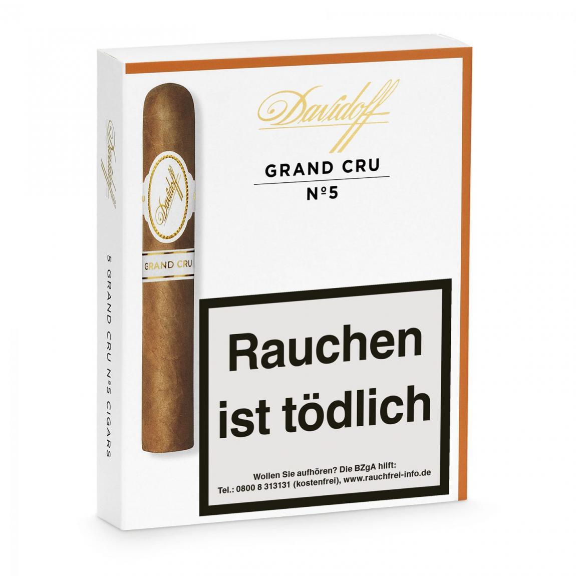 Davidoff »Grand Cru« No. 5, 5er Schachtel