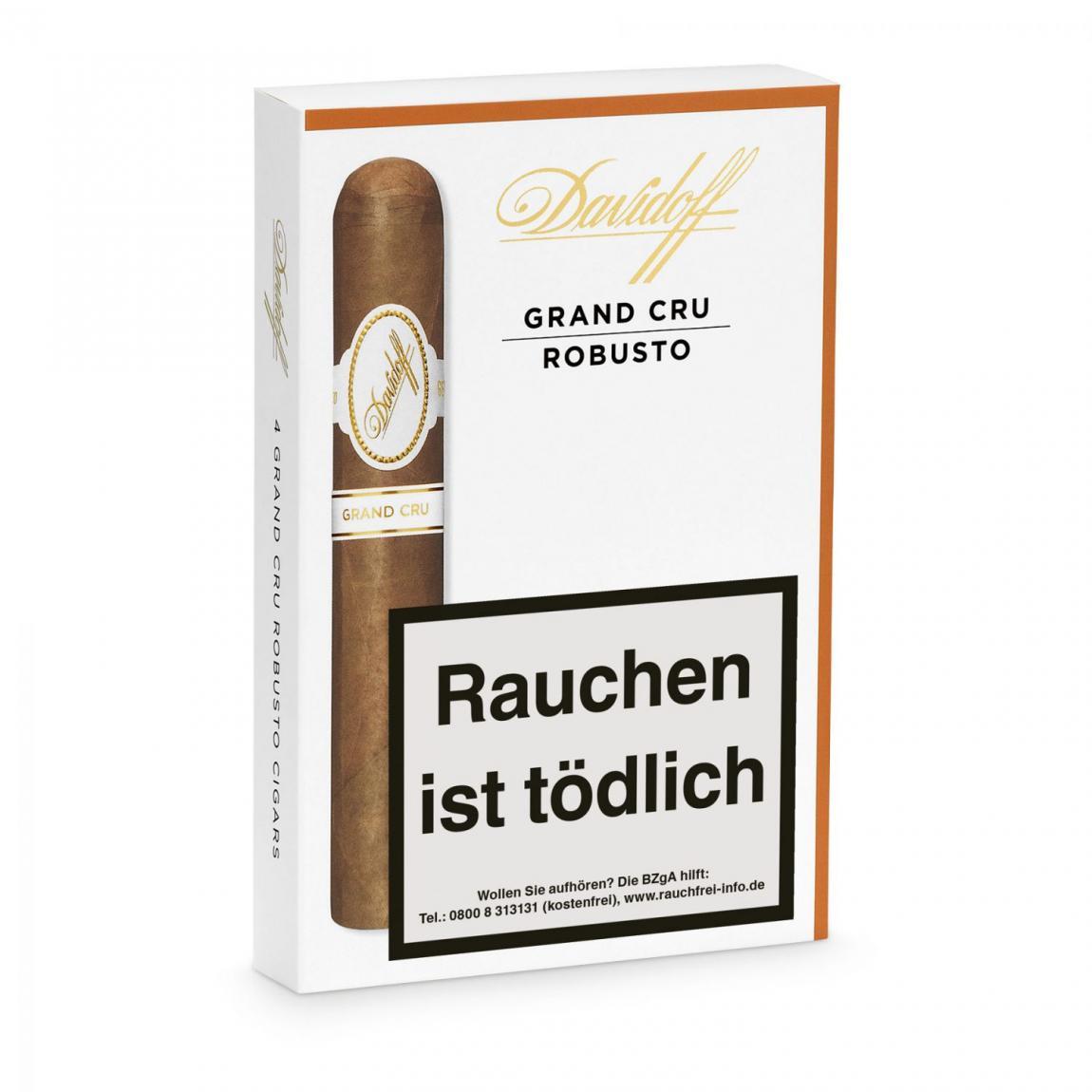 Davidoff »Grand Cru« Robusto, 4er Schachtel