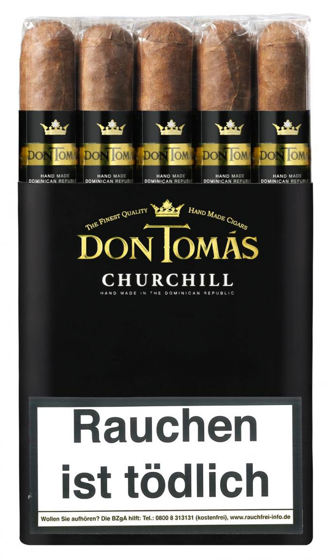 Probe Don Tomás Dominican Churchill 1er