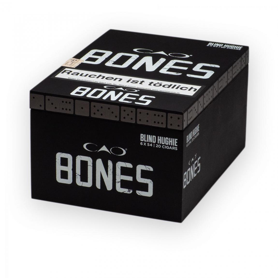 CAO Bones »Chicken Blind Hughie« Toro, 20er Kiste
