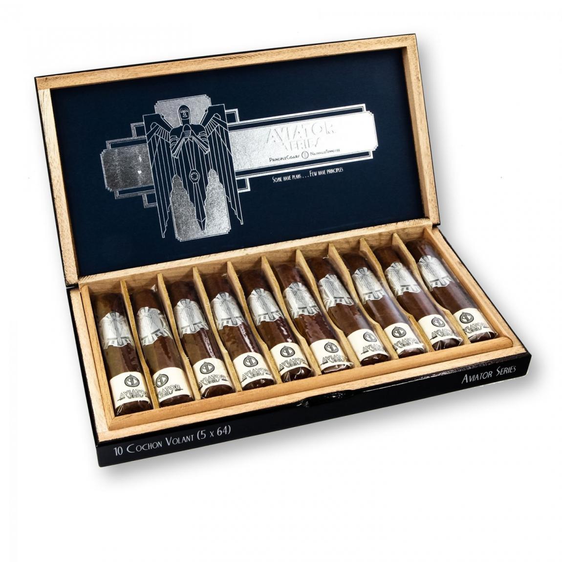 Principle Cigars »Aviator« Cochon Volant, 10er Kiste