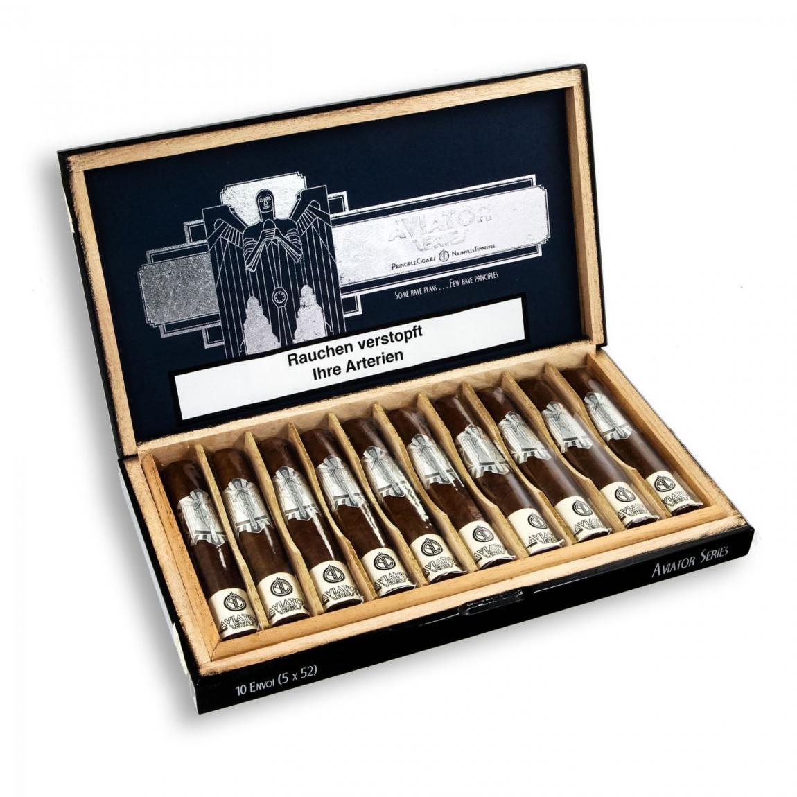 Principle Cigars »Aviator« Envoi, 10er Kiste