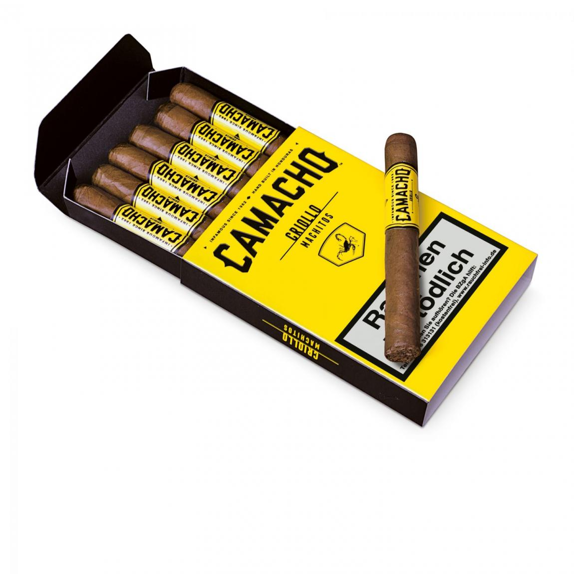 Camacho »Criollo« Machitos 6er Schachtel