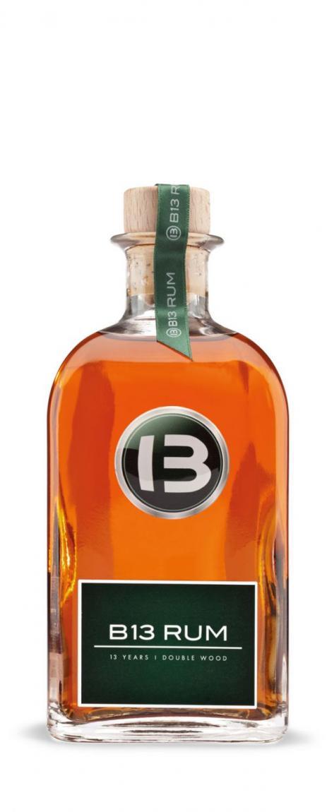 B13 Rum »13 Jahre« aus Barbados, 0,1L
