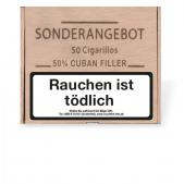 SONDERANGEBOT Cigarillos 50 % Cuban Filler 50er Holzkiste